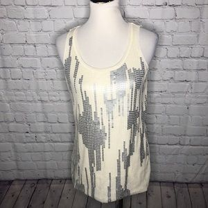 Ann Taylor Sequined Tank